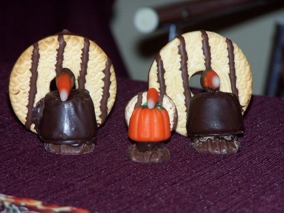 No bake turkeys, https://huffygirl.wordpress.com © Huffygirl 2011