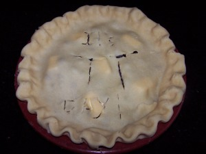 Pi day pie http://huffygirl.wordpress.com, © Huffygirl 2012