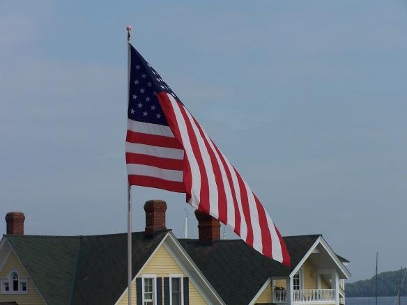 American flag, https://huffygirl.wordpress.com, © Huffygirl 2012