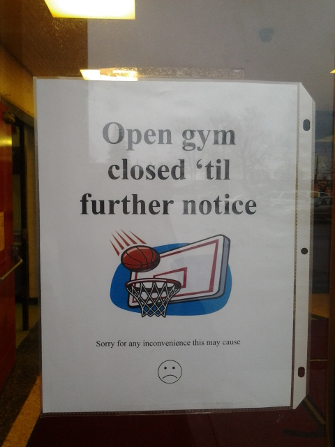 open gym, https://huffygirl.wordpress.com, © Huffygirl 2013
