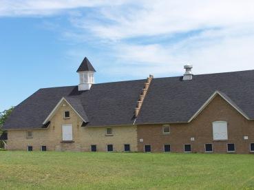 Old livestock barns.